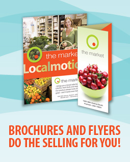 Brochures and Flyers do the Selling